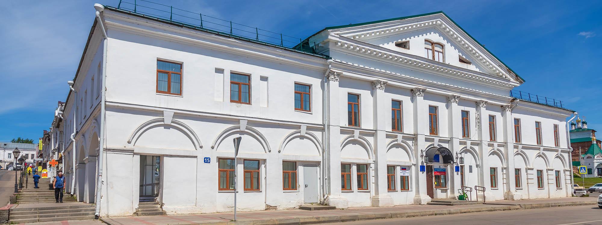 Здание арзамасской биржи