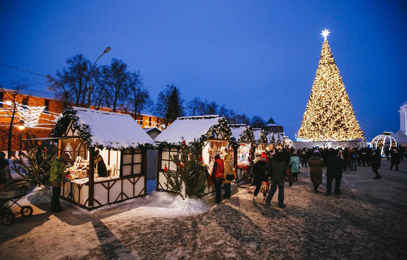 Нижний Новгород вошел в топ-10 лучших городов России для отдыха и путешествий в новогодние праздники