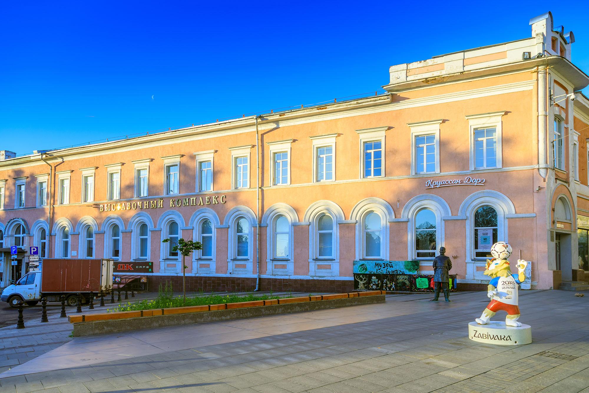 Нижегородский выставочный комплекс войдет в состав художественного музея в Нижнем Новгороде