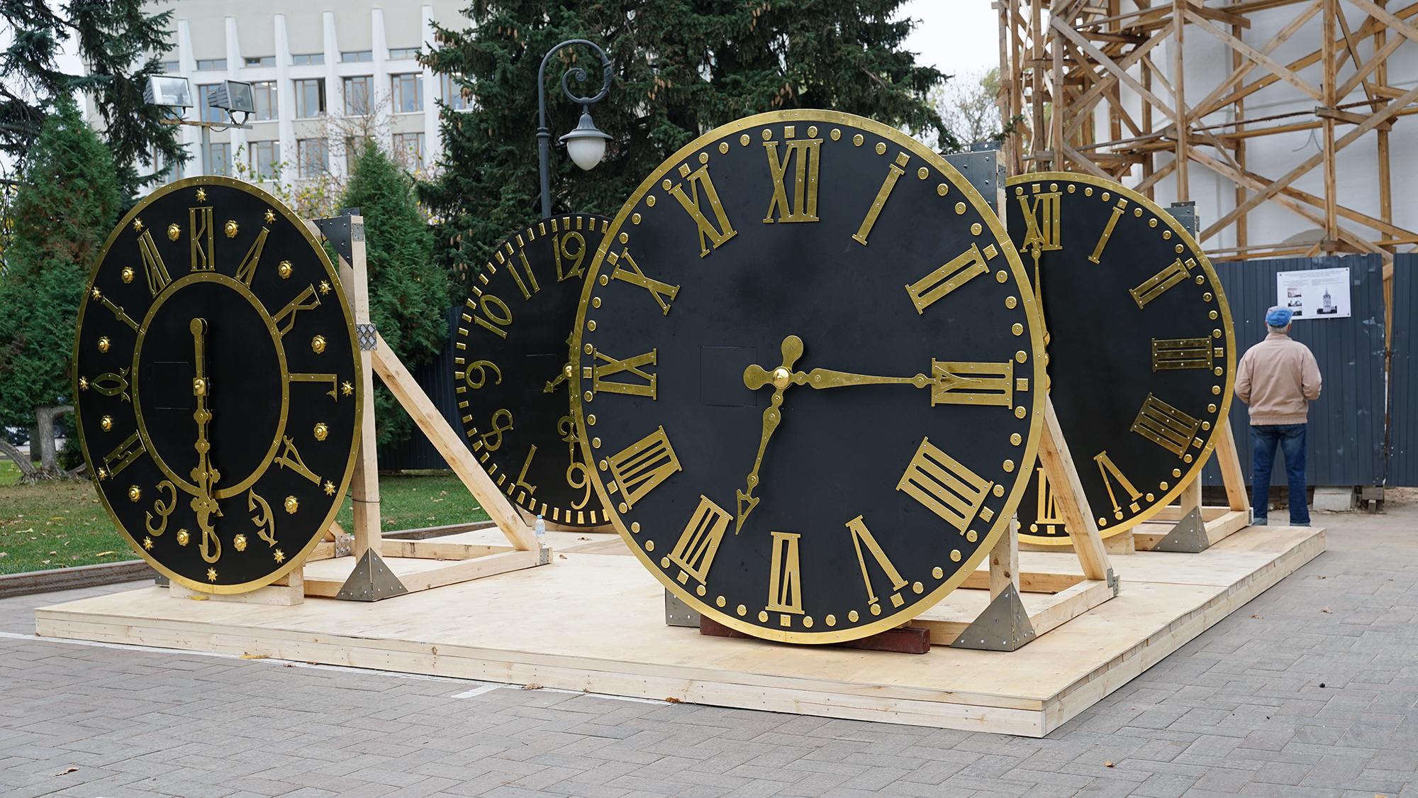 Часы на строящейся колокольне в Нижегородском кремле планируется запустить к концу 2020 года
