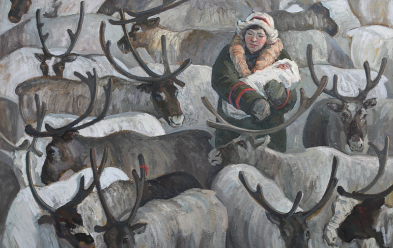 В Нижегородском выставочном комплексе до 8 ноября работают три новых выставки живописи