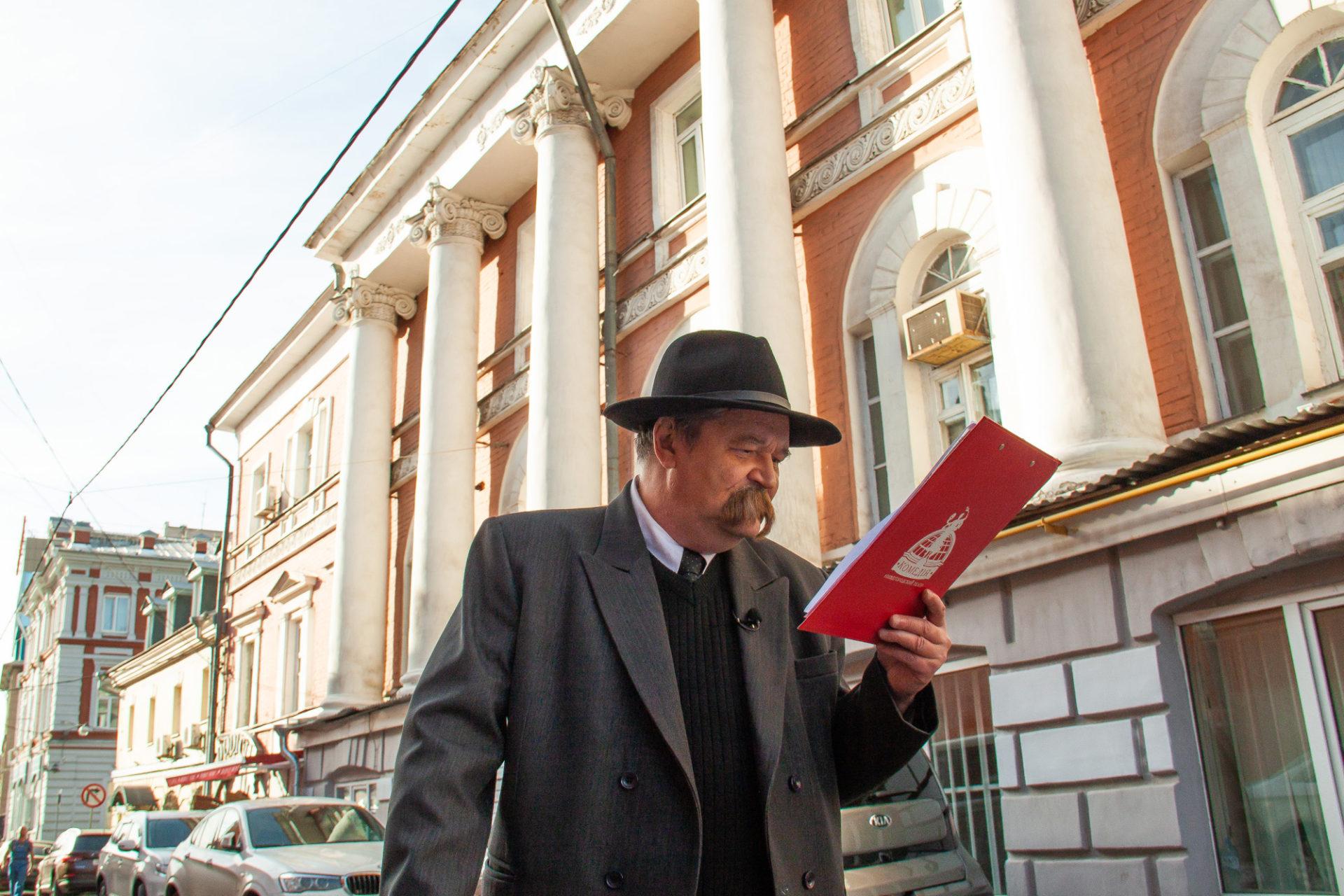 Нижегородский театр «Комедiа» опубликовал второй выпуск онлайн-экскурсии «Горький среди нас»