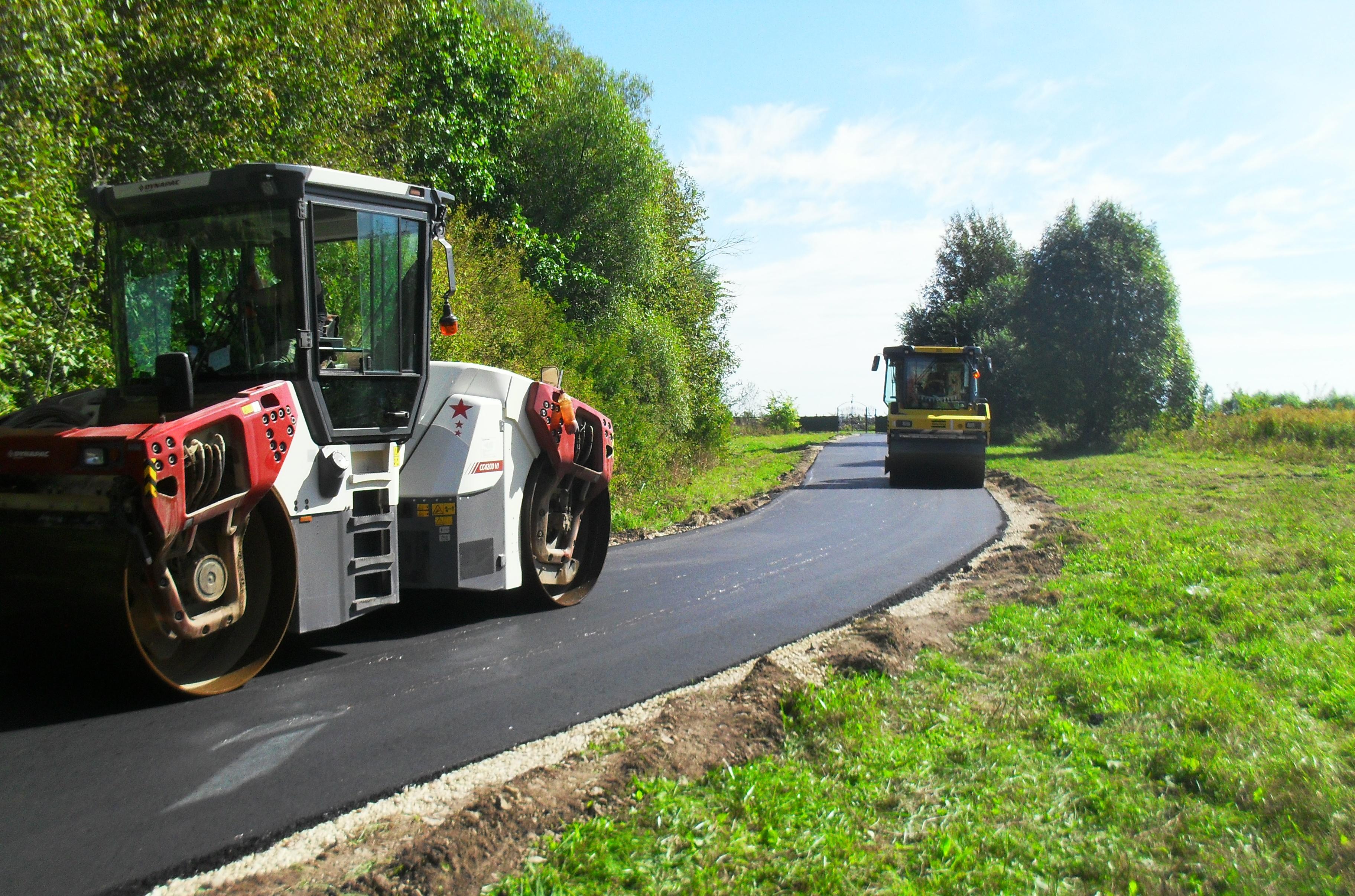 Около 30 км дорог отремонтировано и построено в Дивеевском районе с начала 2020 года