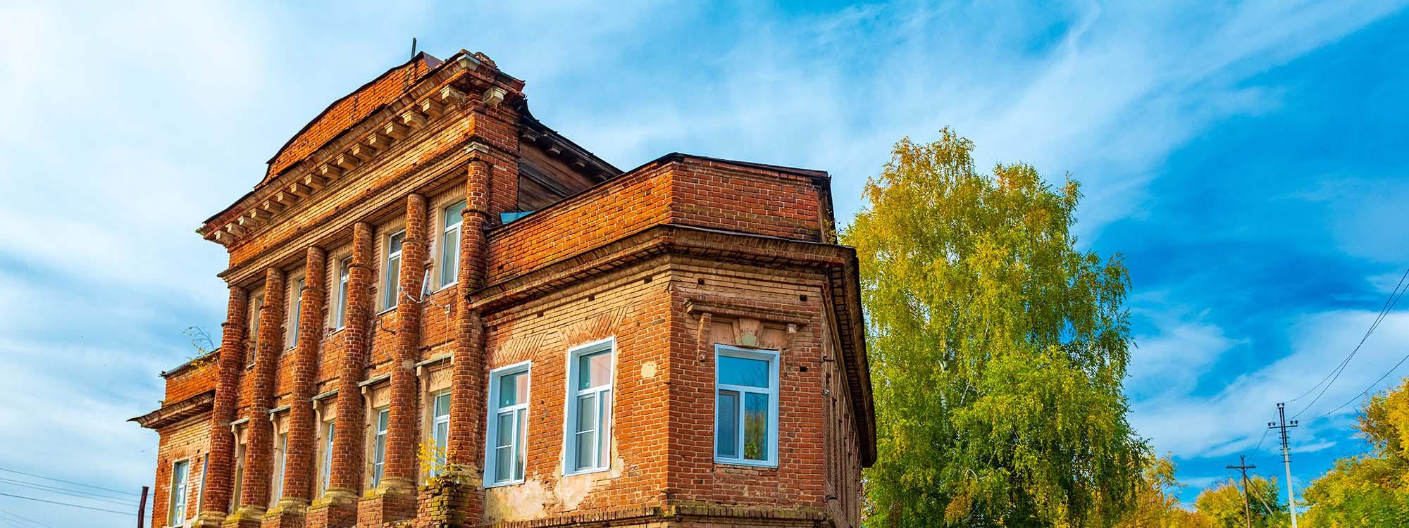 Купеческий дом Шкарина (дом – «утюг»)