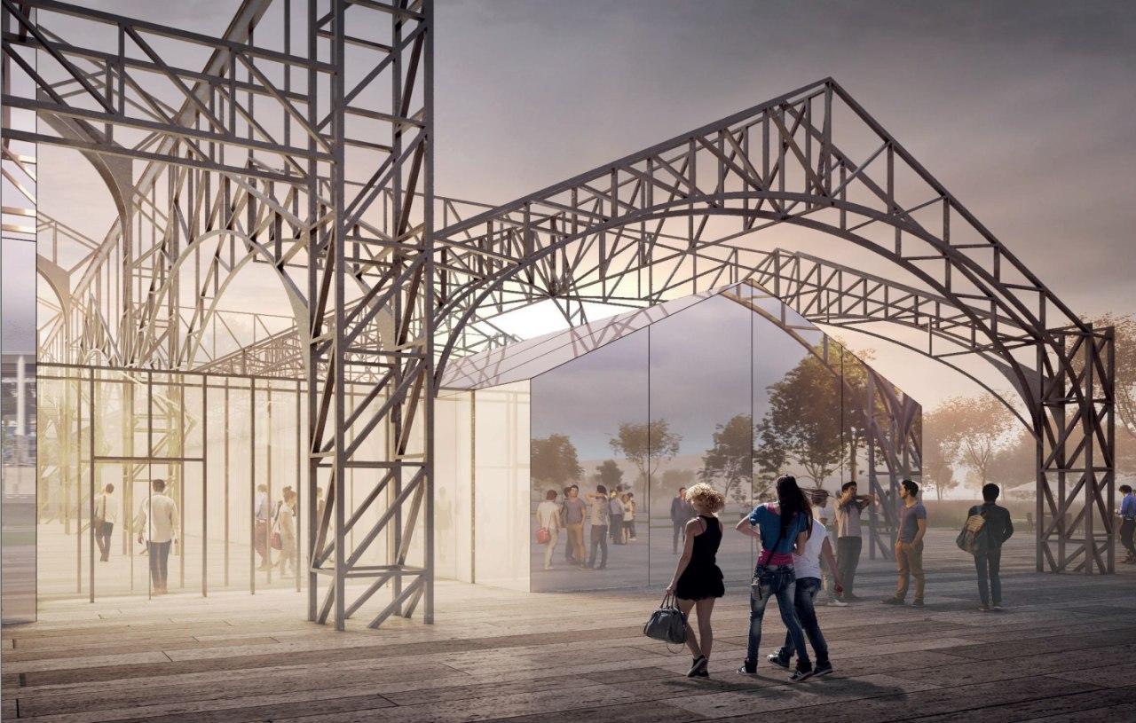 Пакгаузы на Стрелке в Нижнем Новгороде планируется превратить в культурный центр