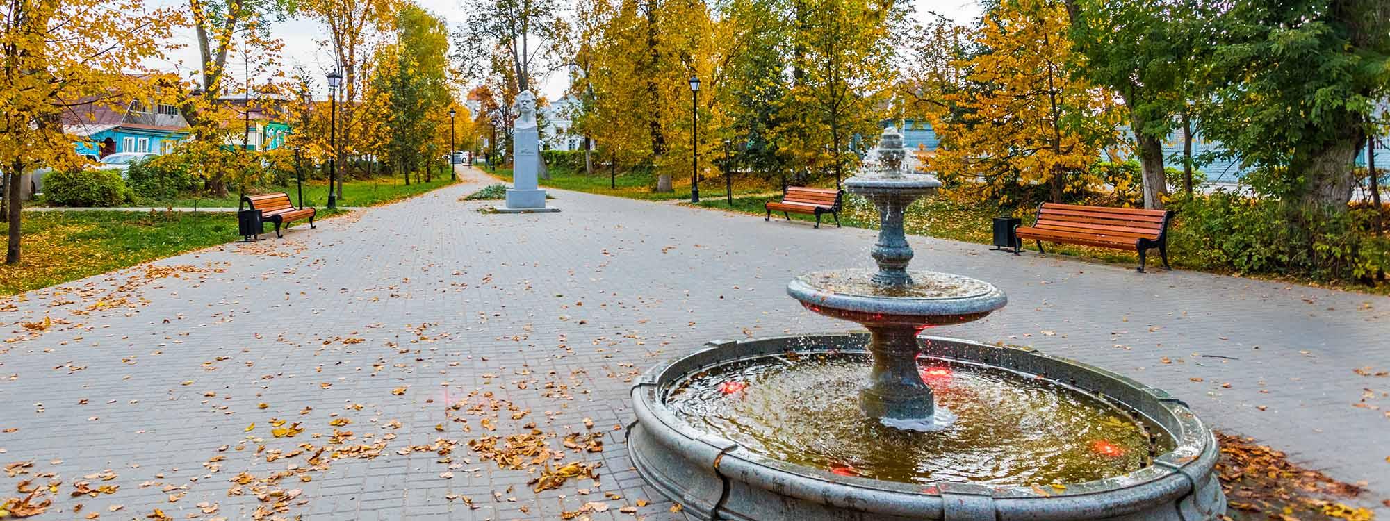 Сквер Горького
