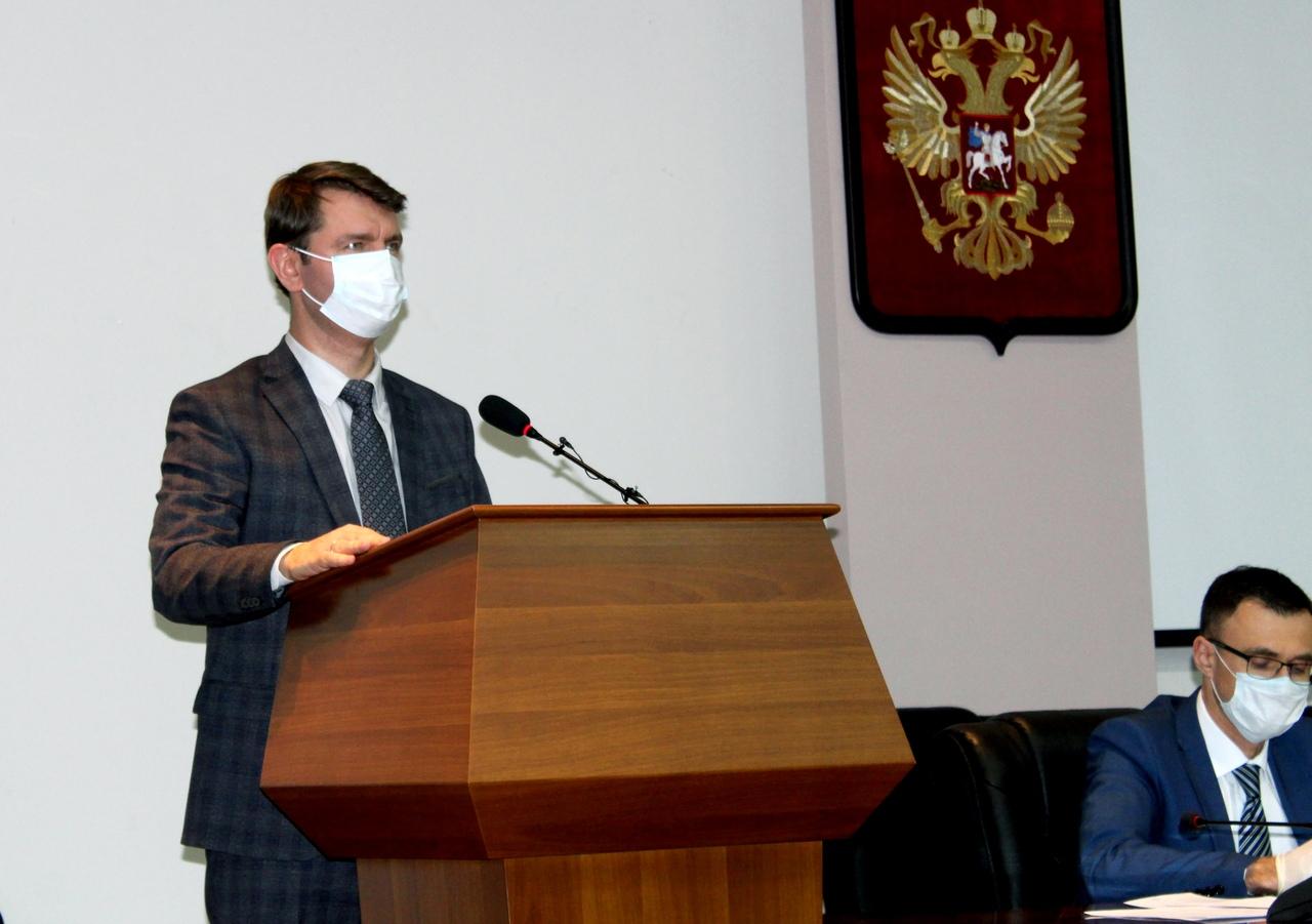 Алексей Сафонов стал новым главой города Сарова