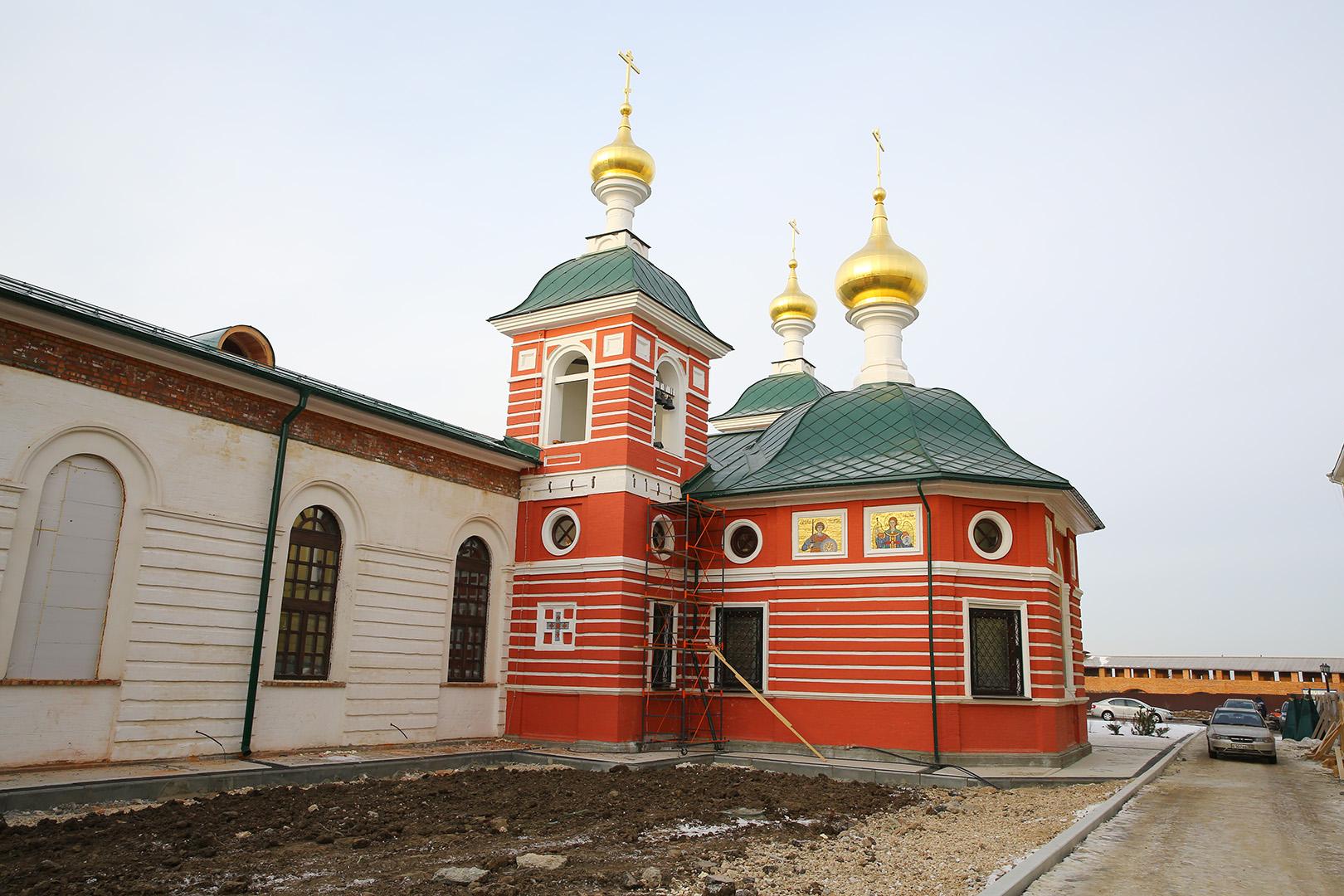 В Никольском храме на территории Нижегородского кремля завершается реставрация