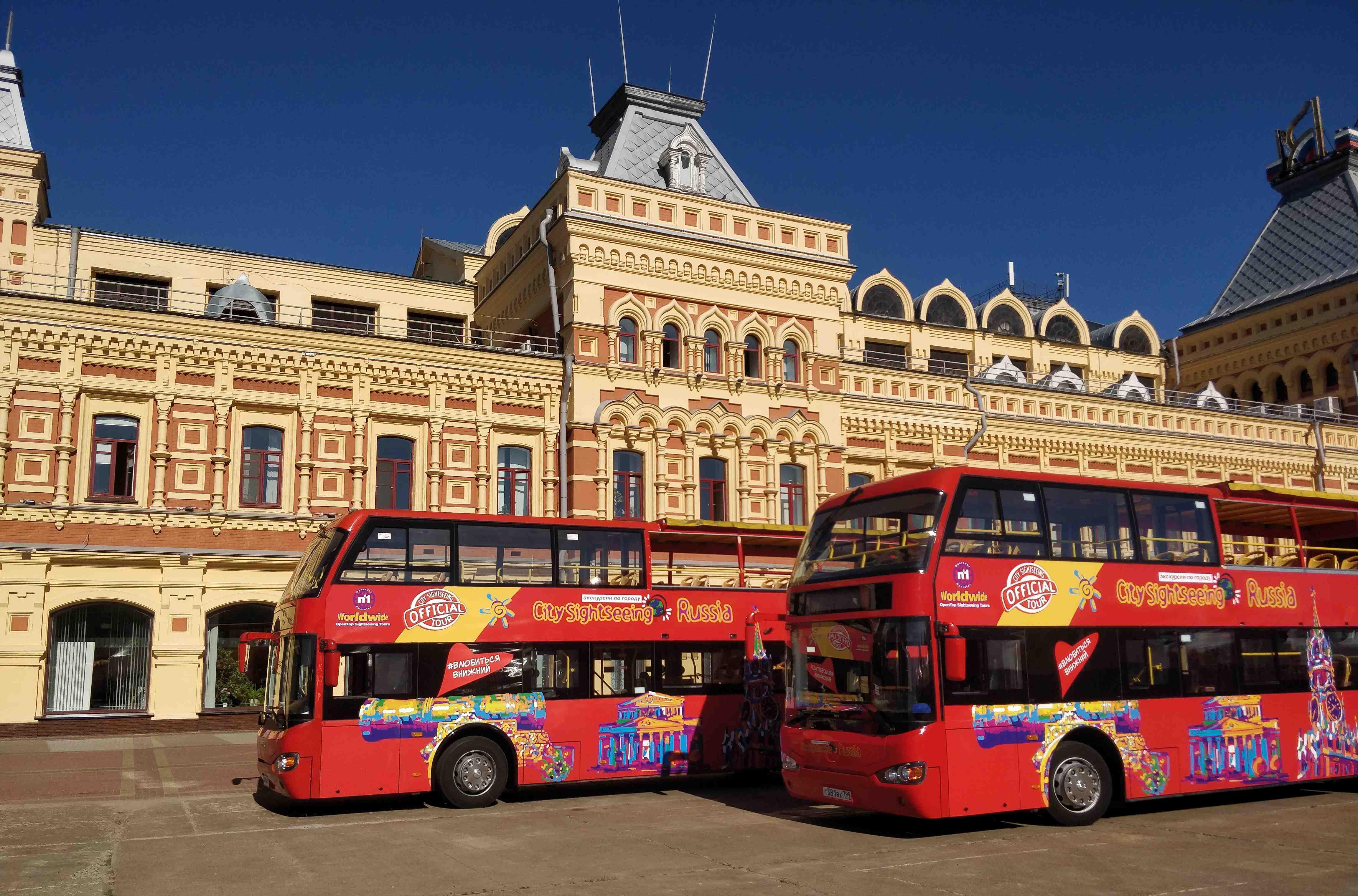 Двухэтажные туристические автобусы будут курсировать в Нижнем Новгороде по 10 января