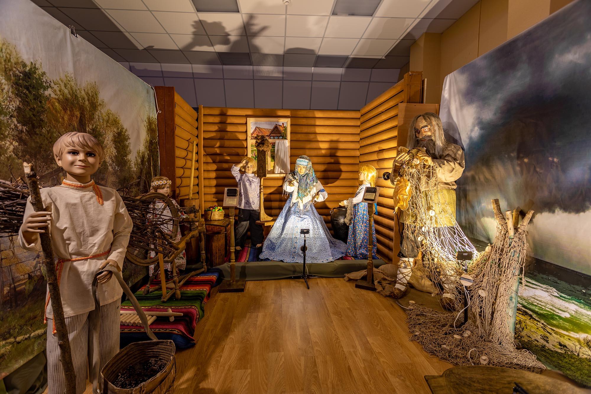 Интерактивная выставка «Сундук со сказками» будет работать в арзамасском музее до 28 февраля