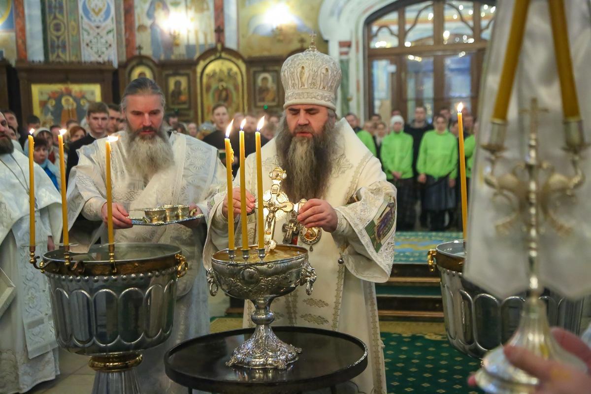 Крещенские богослужения пройдут в храмах Нижнего Новгорода 18 и 19 января