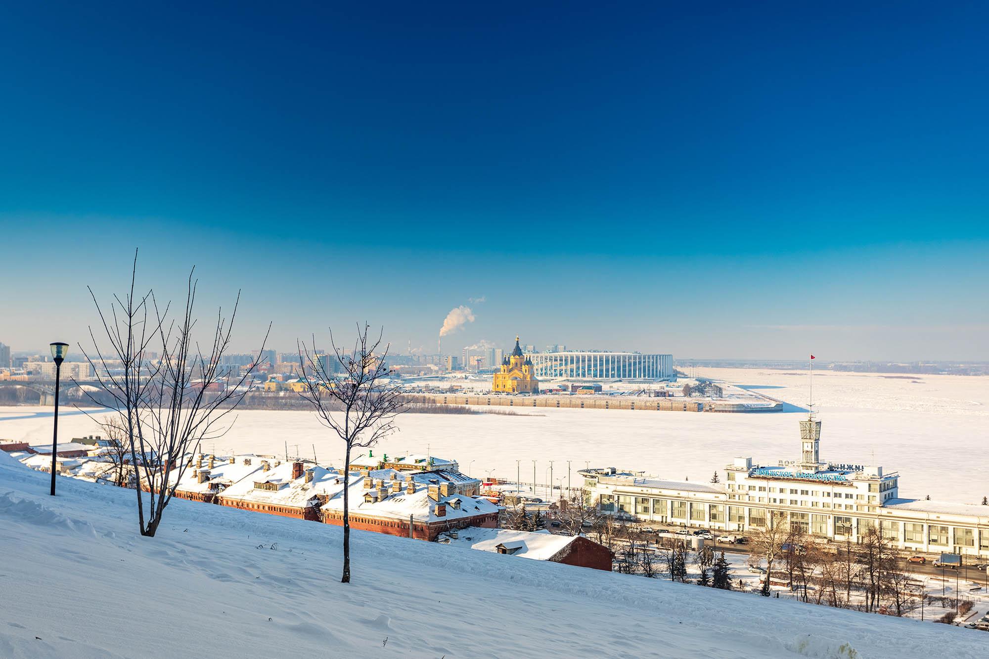 Нижний Новгород вошел в топ-10 популярных городов для романтических путешествий