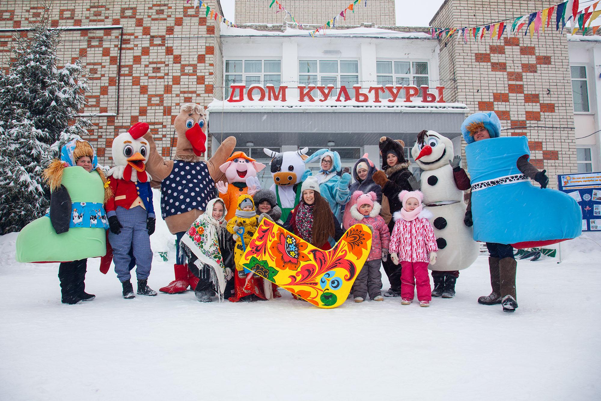 Фестиваль «Арзамасский валенок» прошел в Нижегородской области 13 февраля