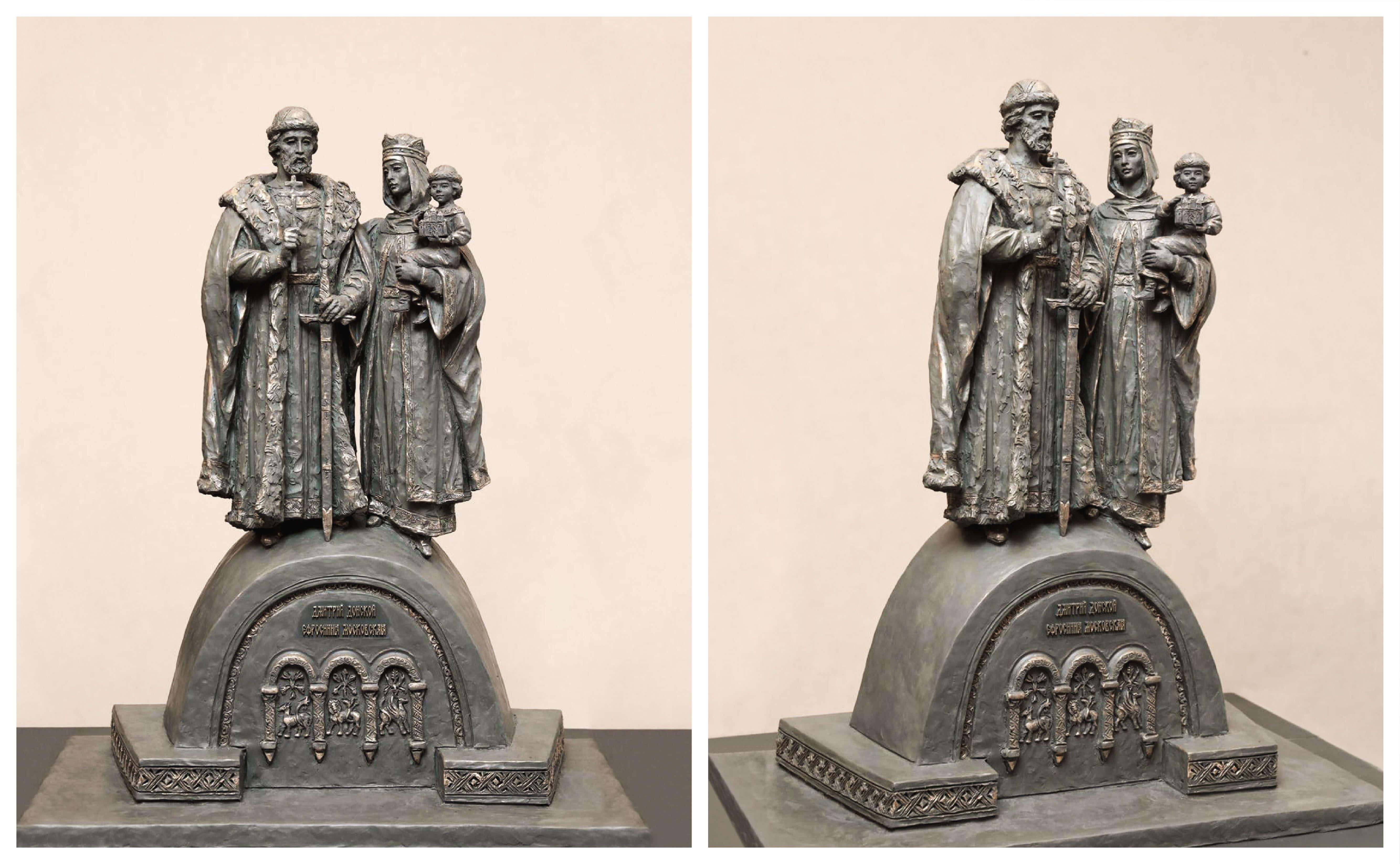 В Нижнем Новгороде выбрали облик будущего памятника святым Димитрию Донскому и Ефросинии Московской
