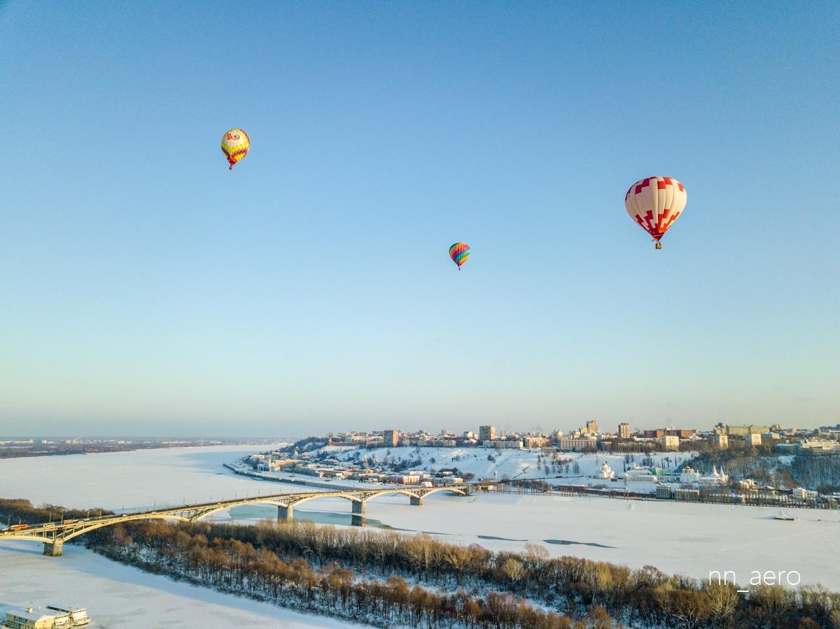 Гонка аэростатов пройдет в Нижнем Новгороде 1 марта