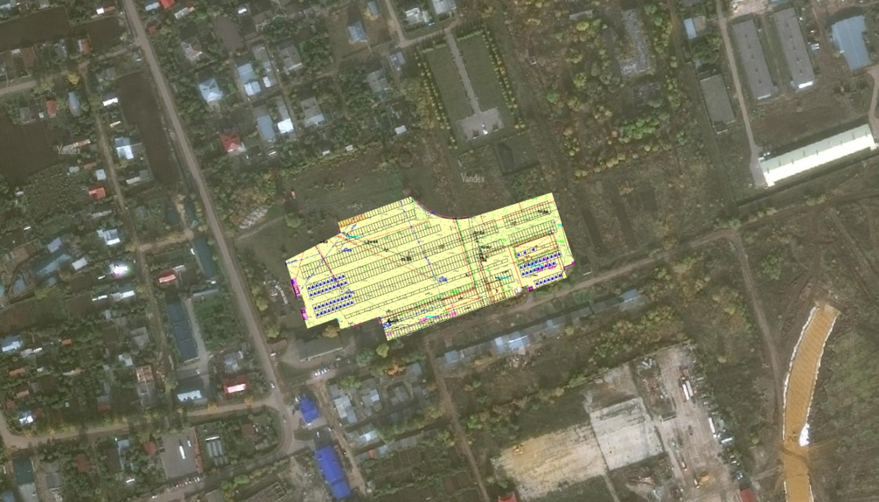 Строительство перехватывающей парковки ведется в селе Дивеево Нижегородской области