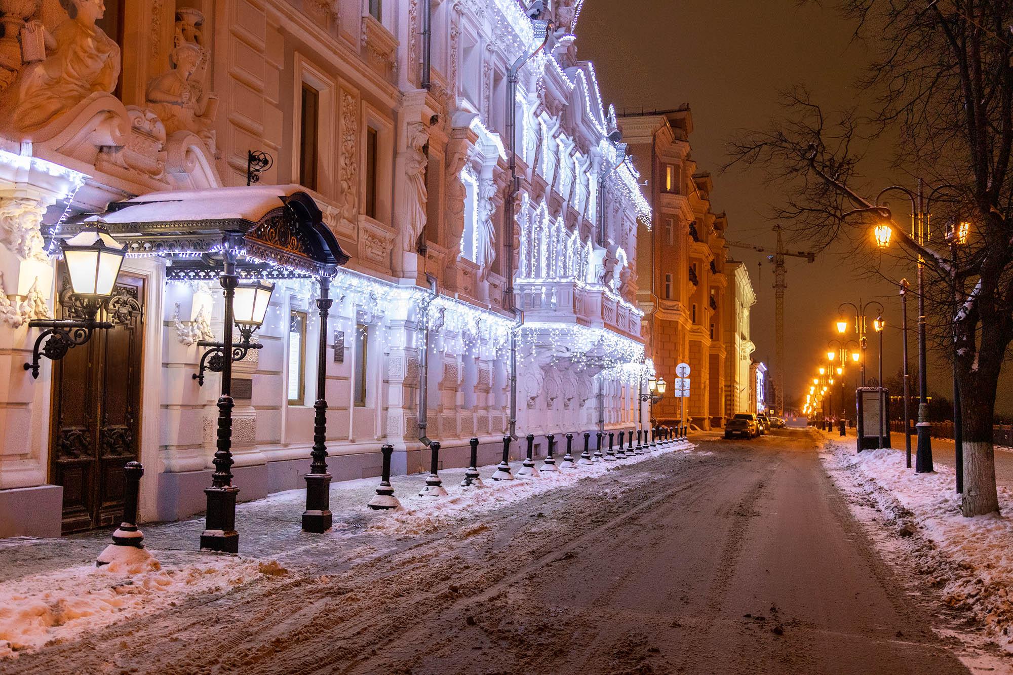 Архитектурно-художественная подсветка украсит достопримечательности Нижнего Новгорода к 800-летию города