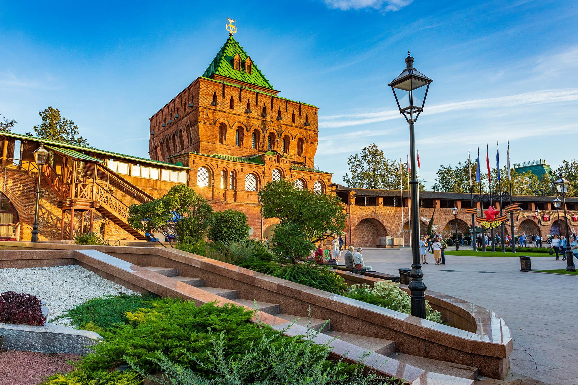 Нижегородский кремль временно закрывается для посещения с 19 апреля