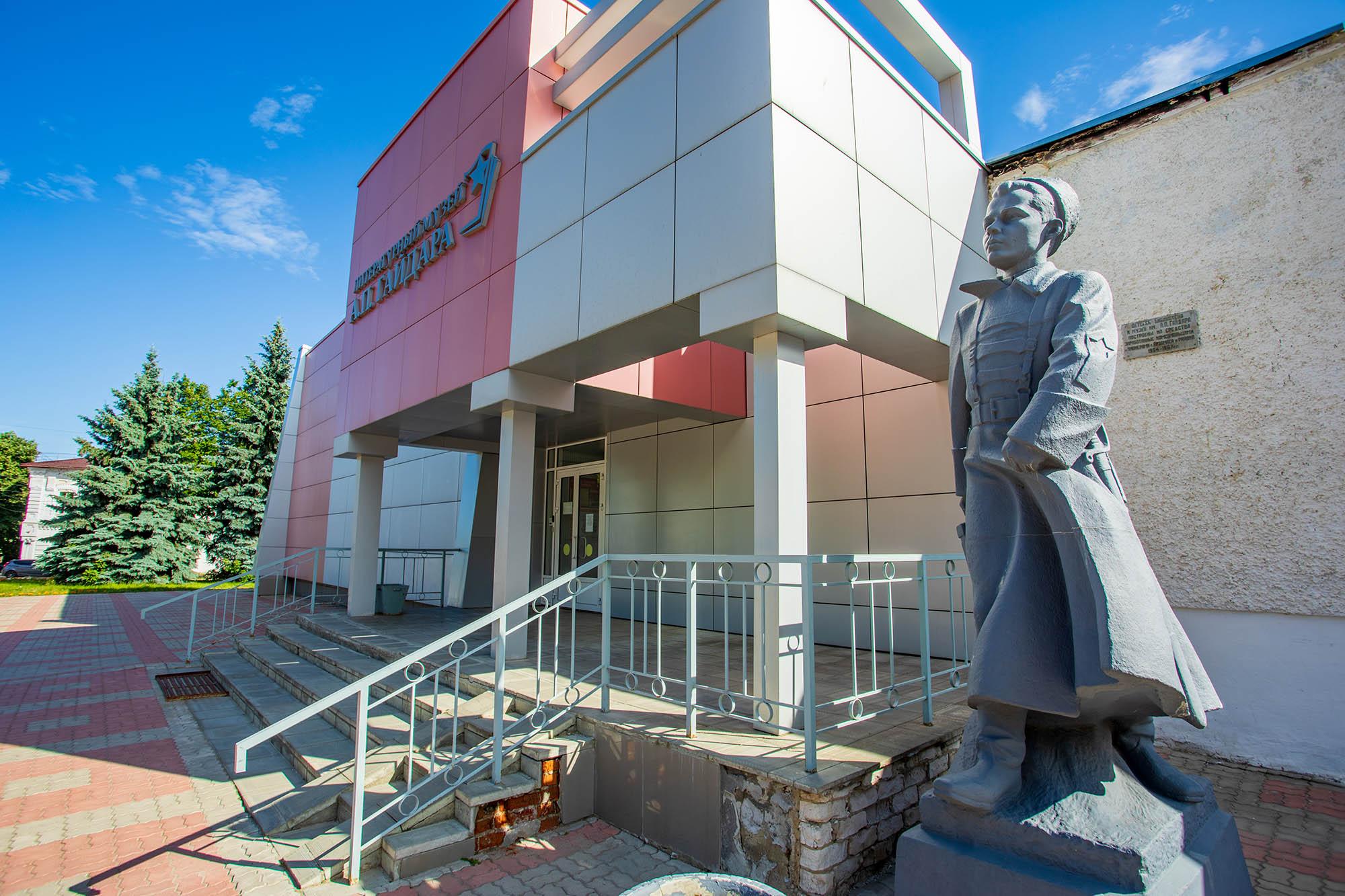 Выставка, посвященная Великой Отечественной войне, работает в арзамасском Литературном музее Гайдара
