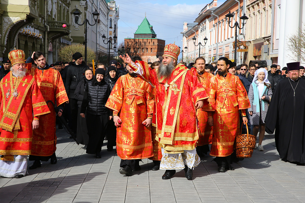 Пасхальный крестный ход состоится в Нижнем Новгороде 2 мая