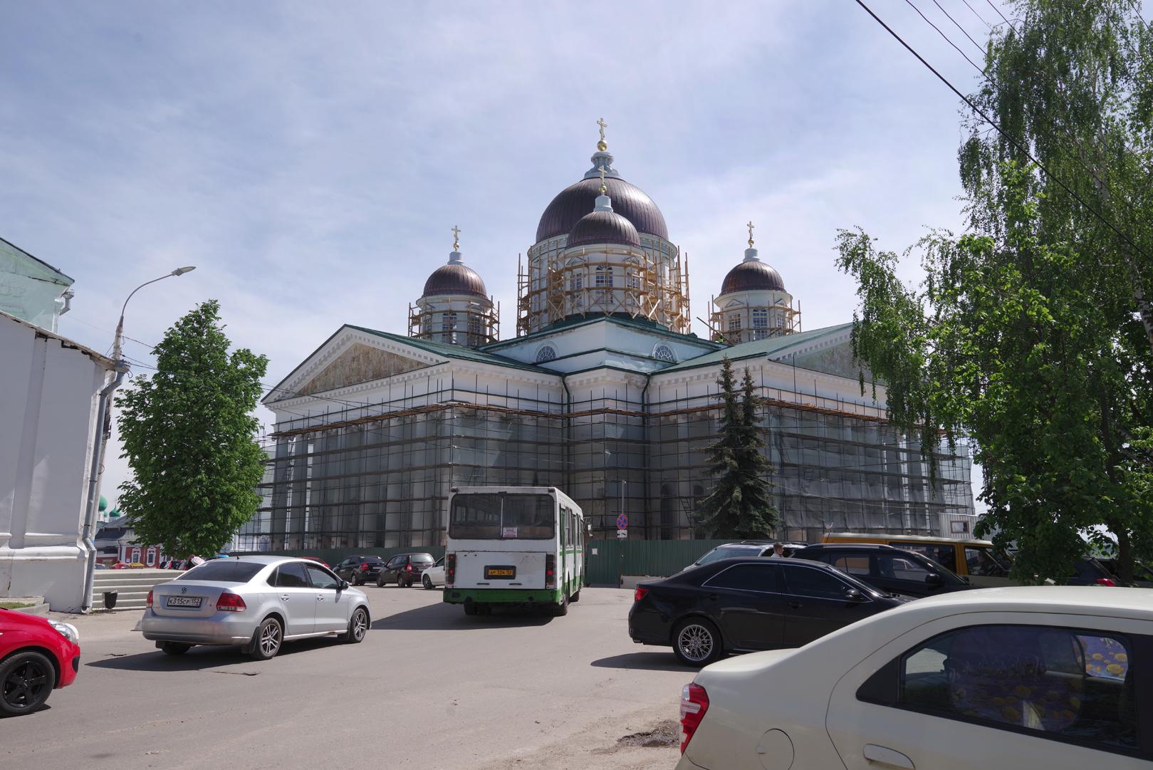 В Арзамасе обсудили реставрацию Воскресенского собора