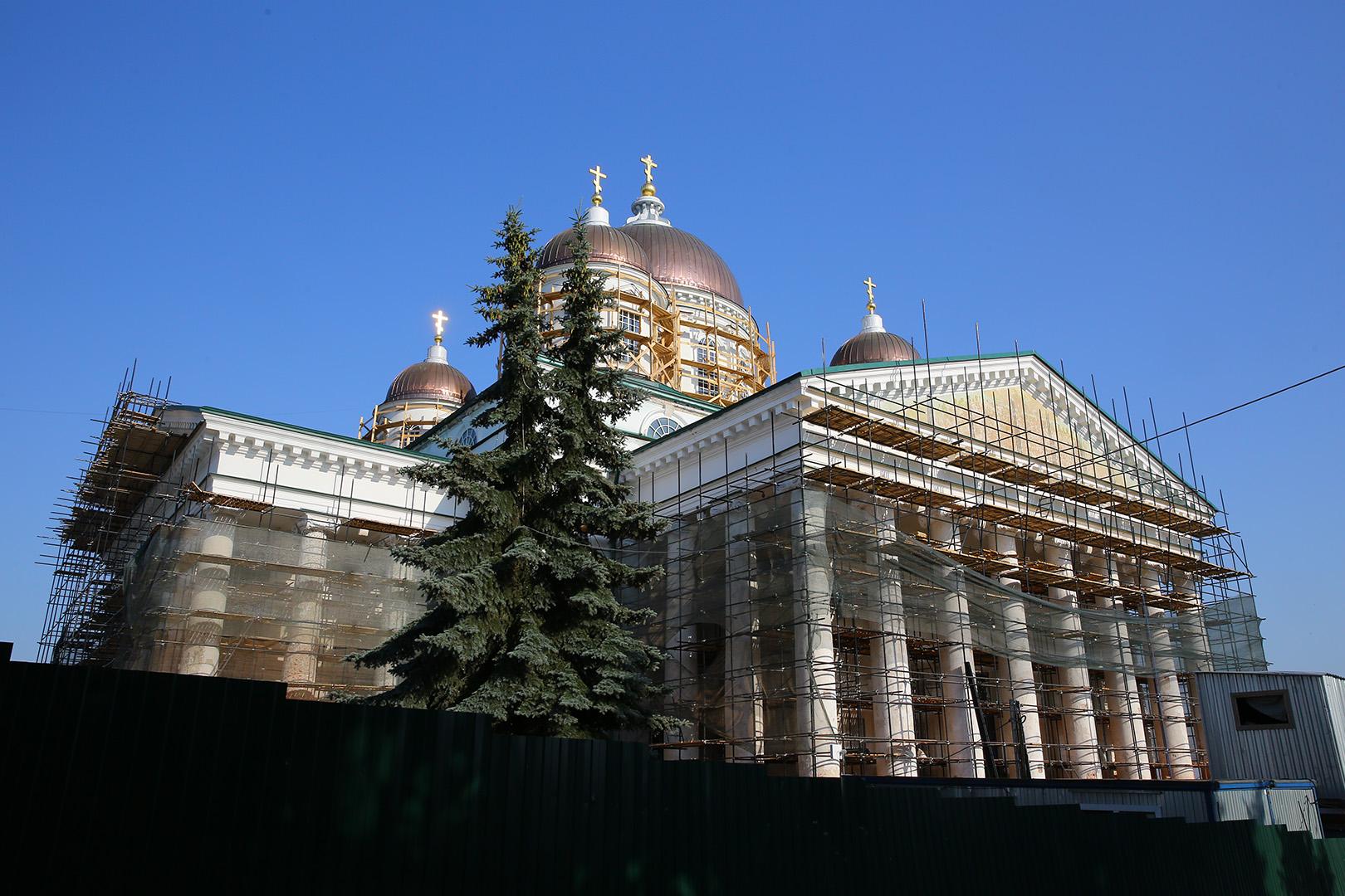 В Арзамасе обсудили реставрацию Воскресенского кафедрального собора и Преображенского собора Спасо-Преображенского монастыря