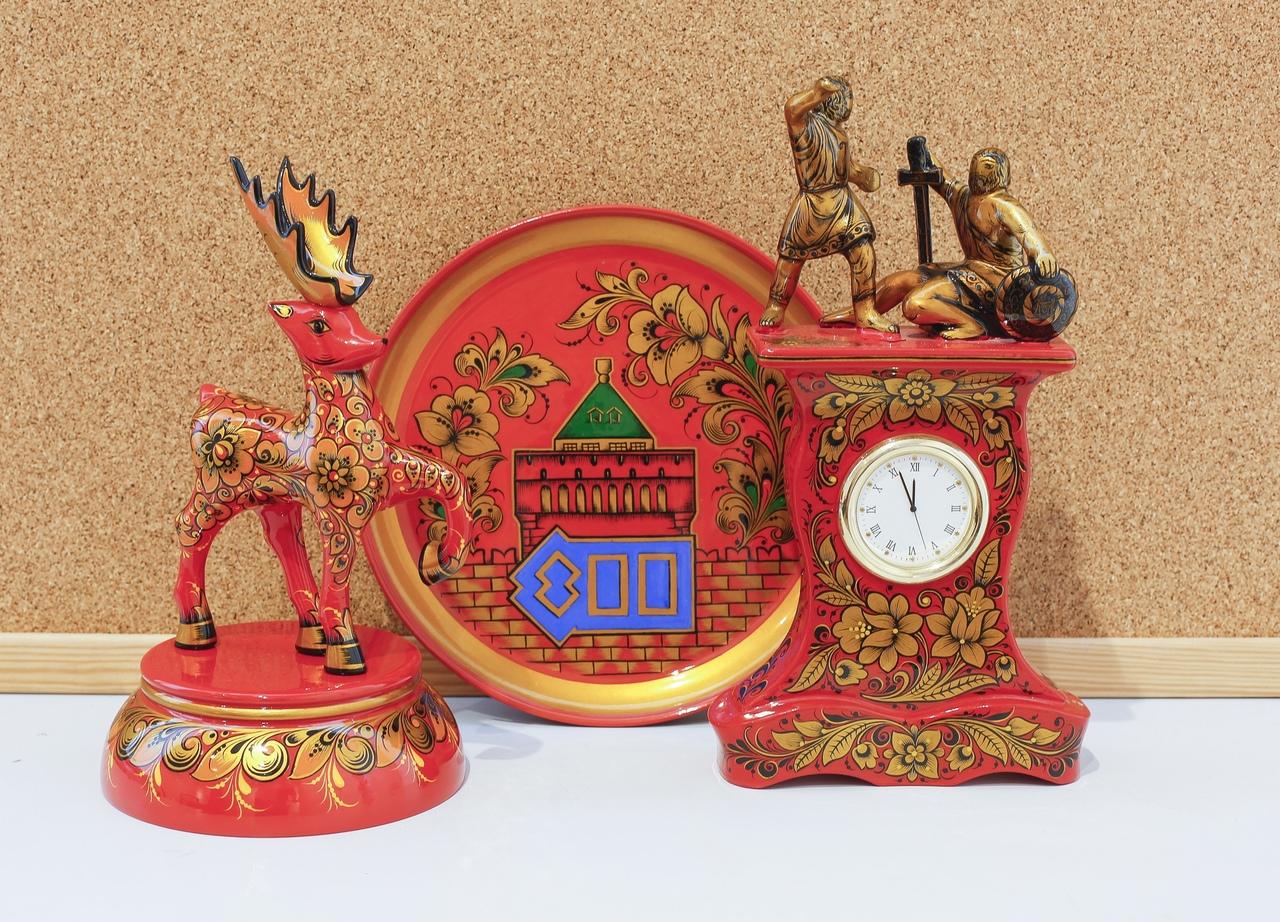 Выставка изделий народно-художественных промыслов открылась в Доме Сироткина в Нижнем Новгороде