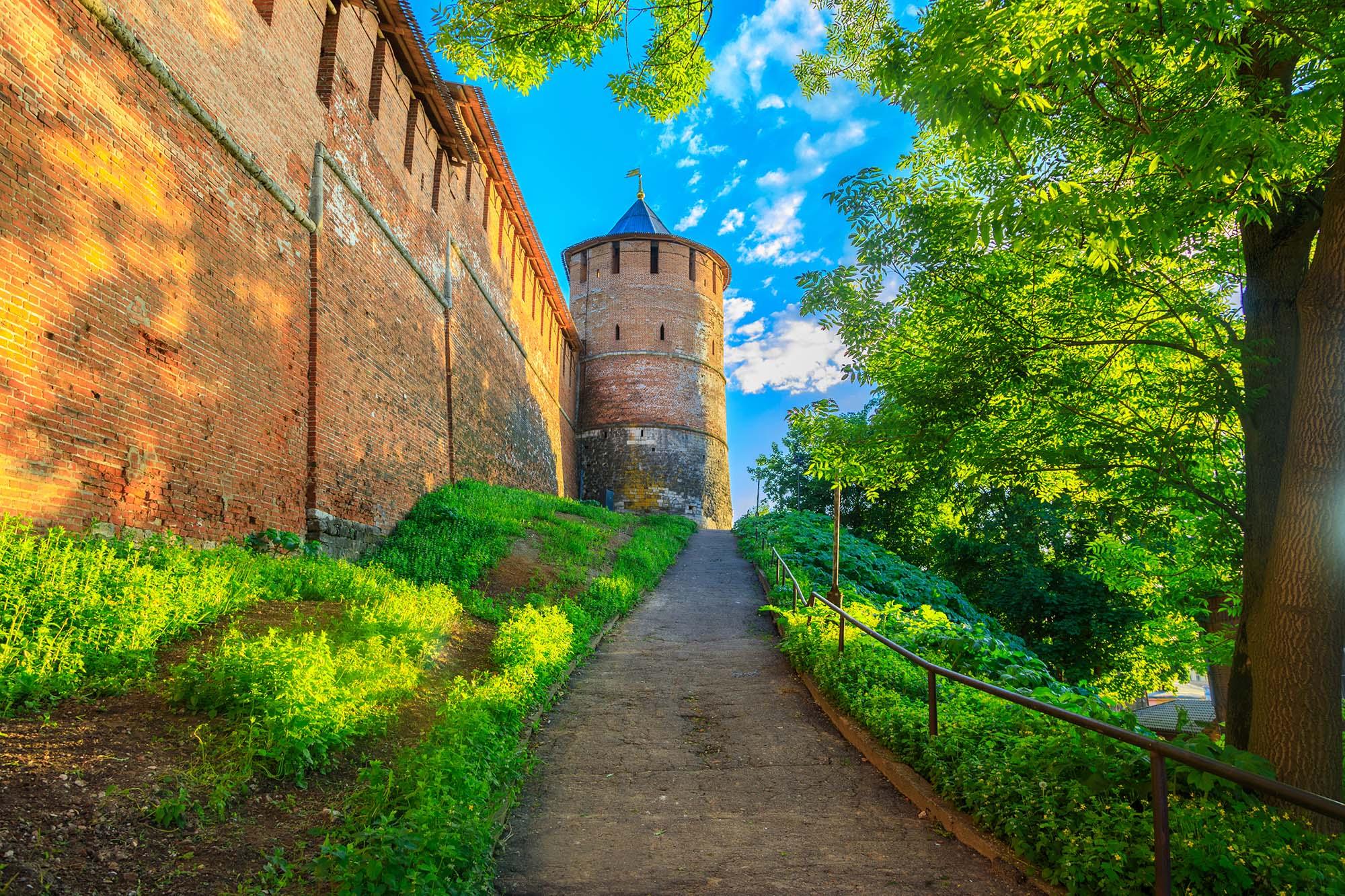 Кольцевой маршрут по стене Нижегородского кремля откроется 22 августа