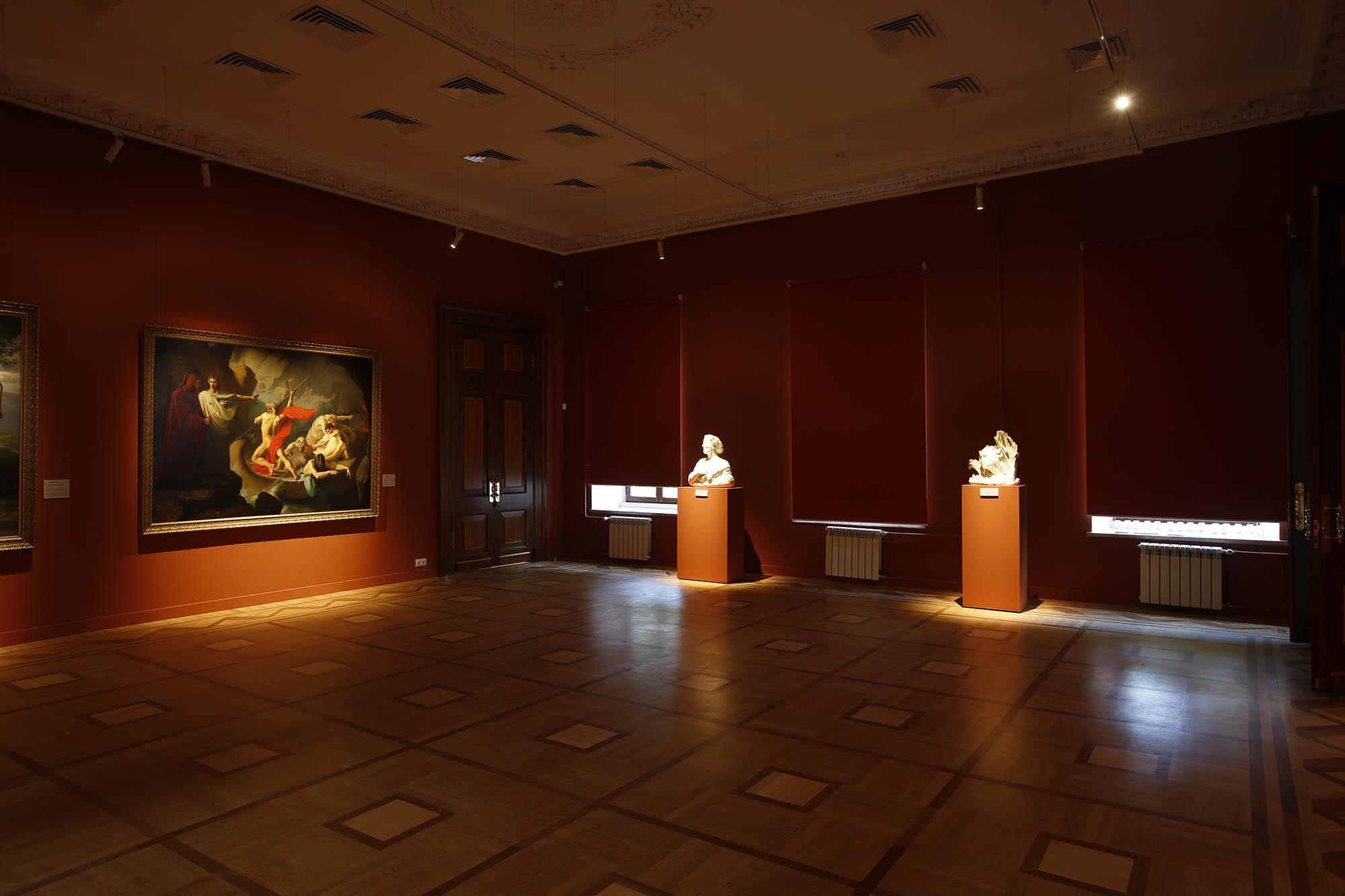 Новая выставка картин открылась в обновленном здании Нижегородского художественного музея