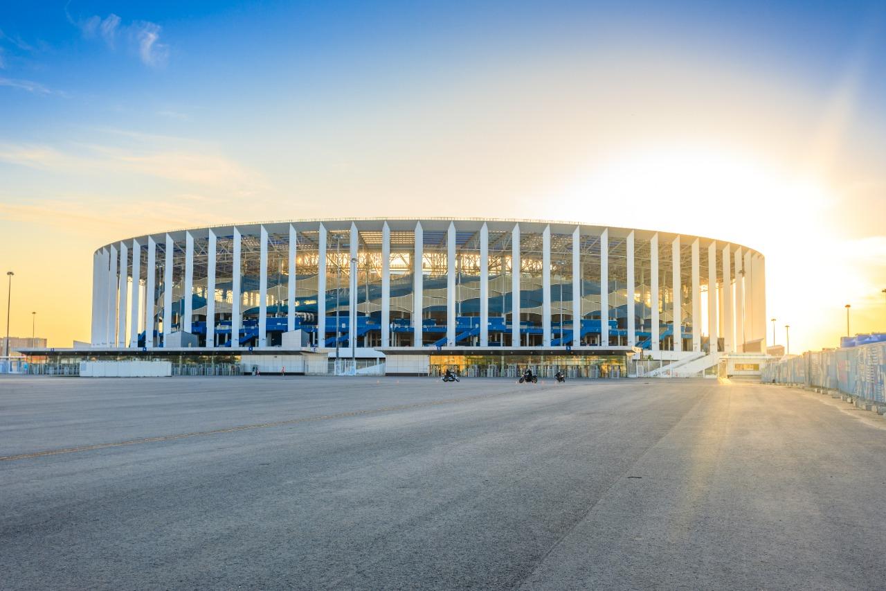Кинопарковка начала работу у стадиона «Нижний Новгород»