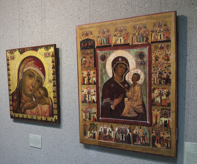 Выставка икон «Отрада и Утешение» работает в Сарове