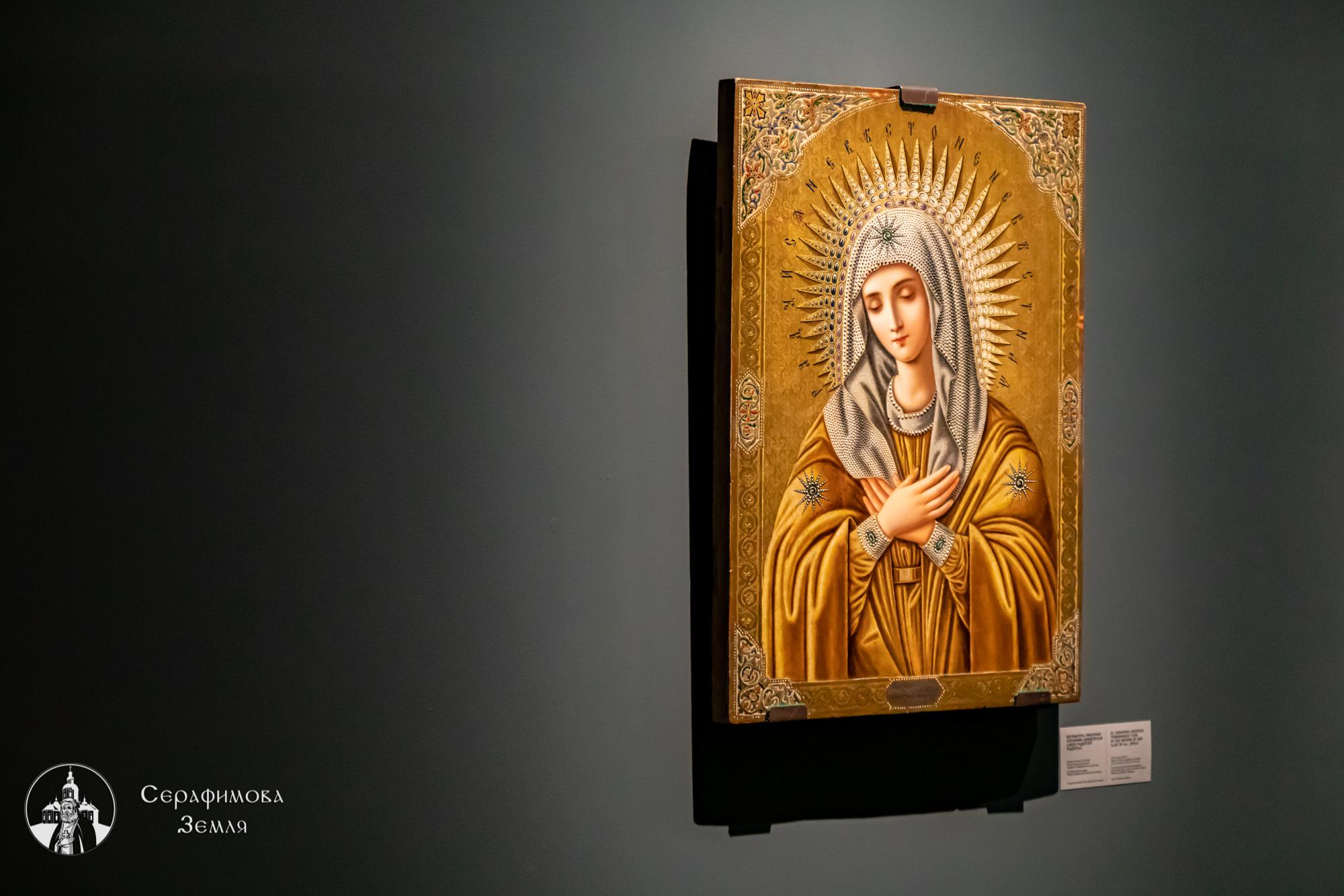 Святыни, связанные с историей Серафимовой земли, можно увидеть на выставке в нижегородском Манеже