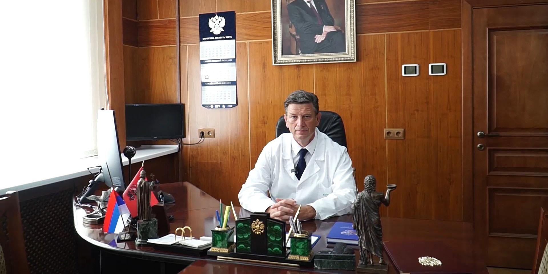Победитель конкурса «Серафимовский врач – 2020» – Олег Аполихин