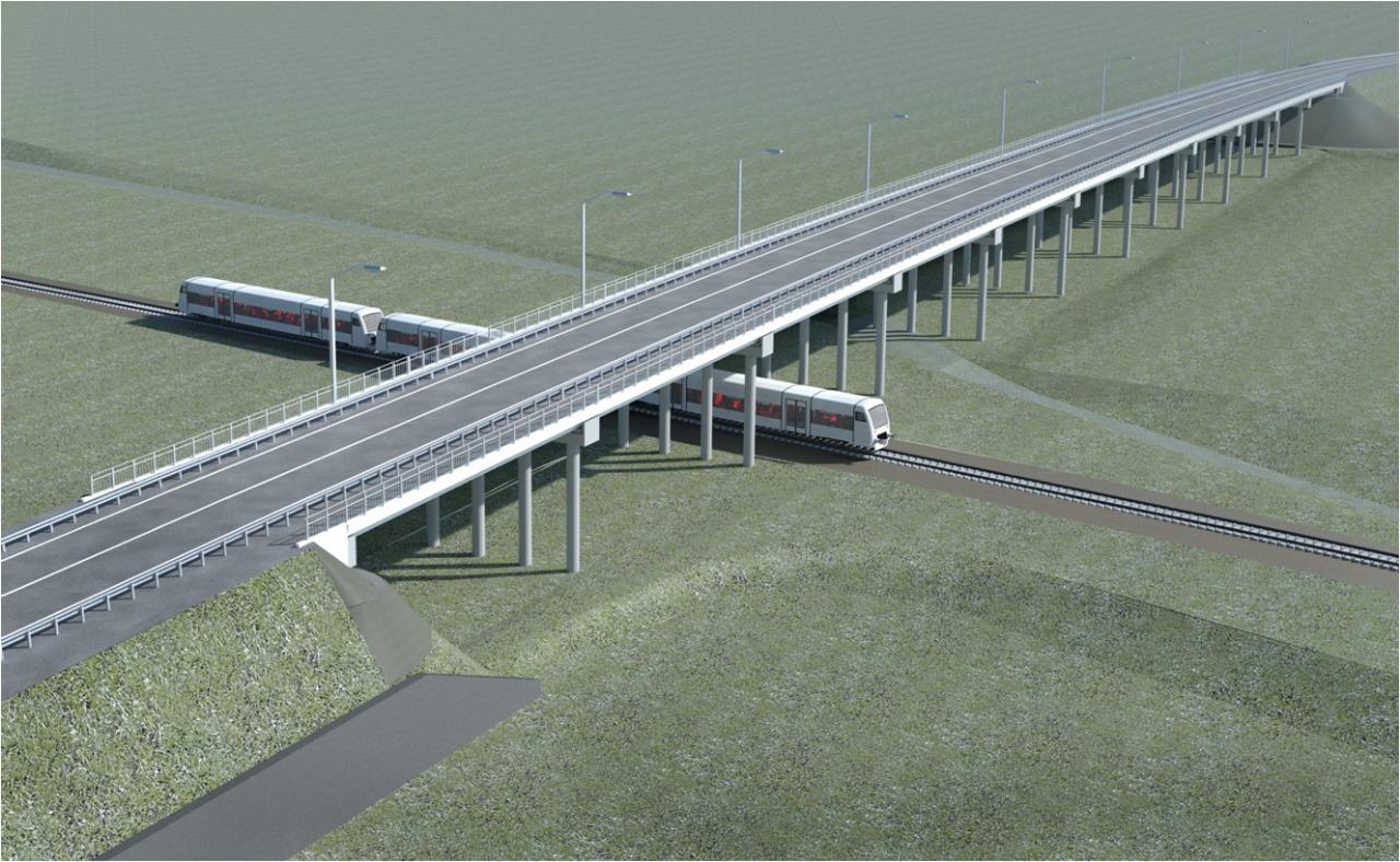 К строительству путепровода в поселке Выездное планируется приступить в 2022 году