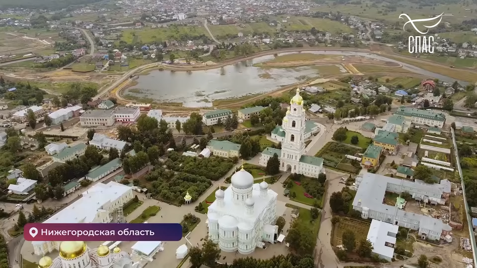 Сюжет о Дивеевском монастыре вышел на телеканале «Спас»