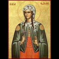 Мученица Фоти́на (Светла́на) Самаряныня, Римская