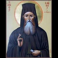 Преподобный Са́вва Новый, иеромонах