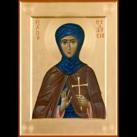 Преподобномученица Феодо́сия Константинопольская, дева