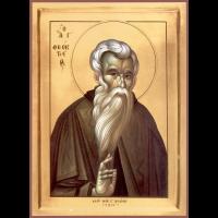 Преподобный Феокти́ст Палестинский, игумен