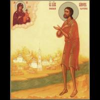Блаженный Си́мон Юрьевецкий, Христа ради юродивый