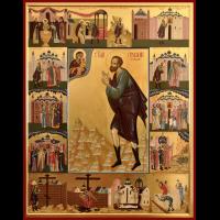 Праведный Проко́пий Устюжский, Христа ради юродивый