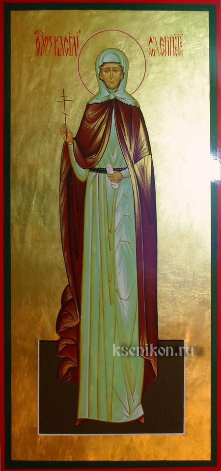 Мученица Васили́сса Египетская, игумения