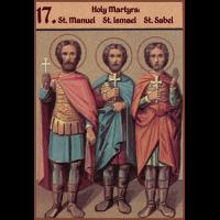 Мученик Исмаи́л Персиянин, Халкидонский
