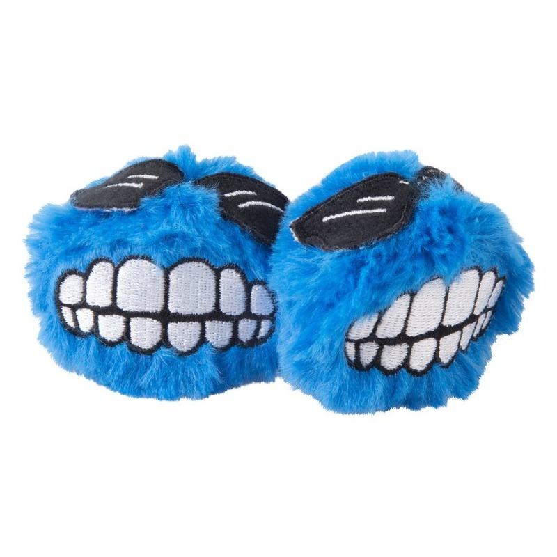 Rogz Rogz Catnip Fluffy Grinz игрушка для кошек с кошачьей мятой, голубая, Blue, 2 шт в уп