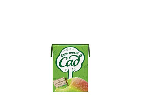 Сок яблочный 0.2