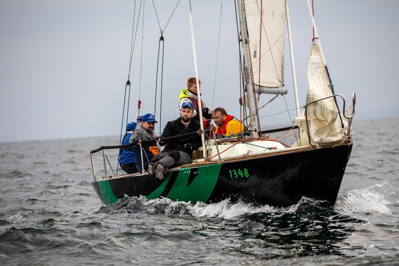 Кубок Владивостока по парусному спорту. Участвуют яхты классов «Platu 25» и «Конрад 25P»