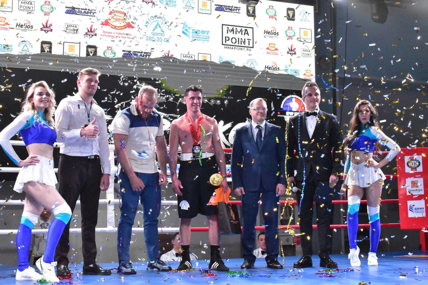 «Вечер бокса» состоялся в ДВФУ 27 мая.