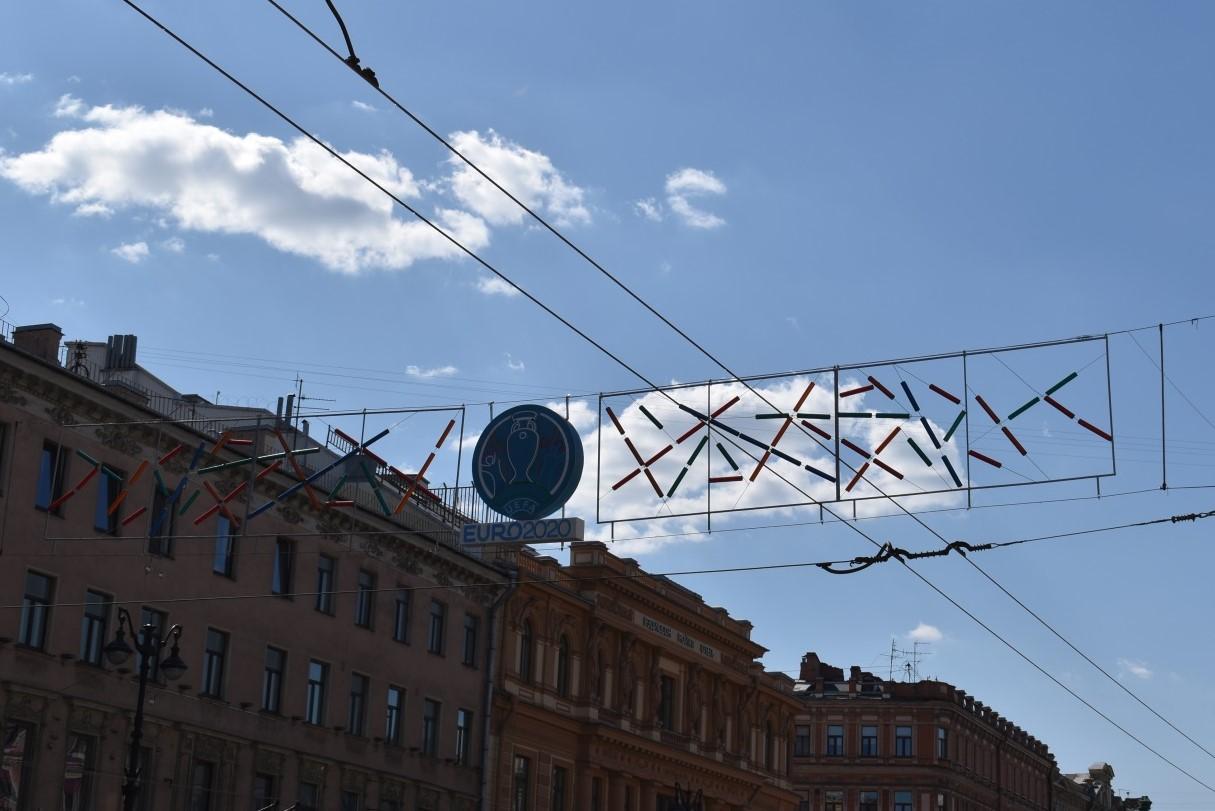 Евро-2020 в Санкт-Петербурге. Новости футбола.