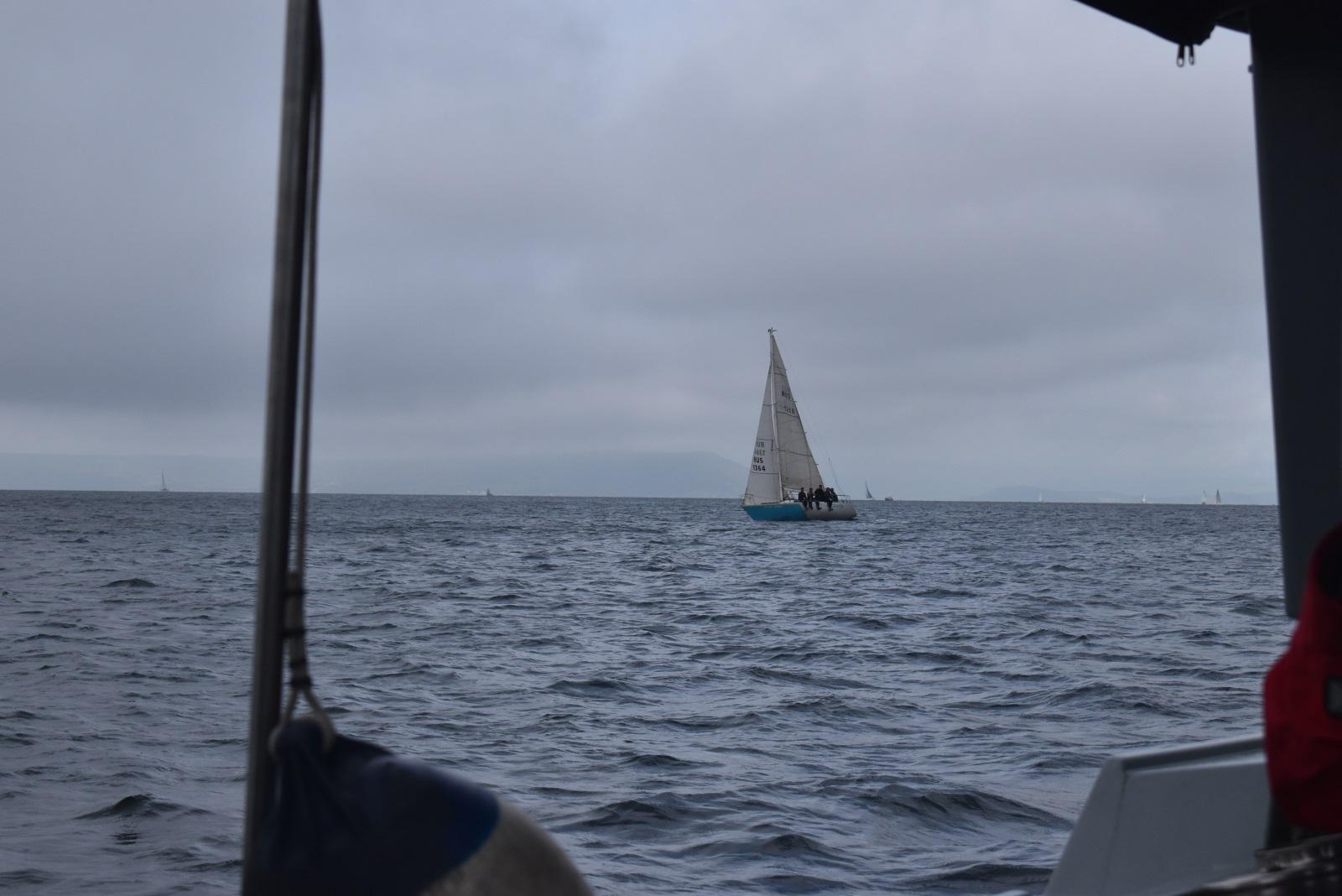 яхта спорт25 парус