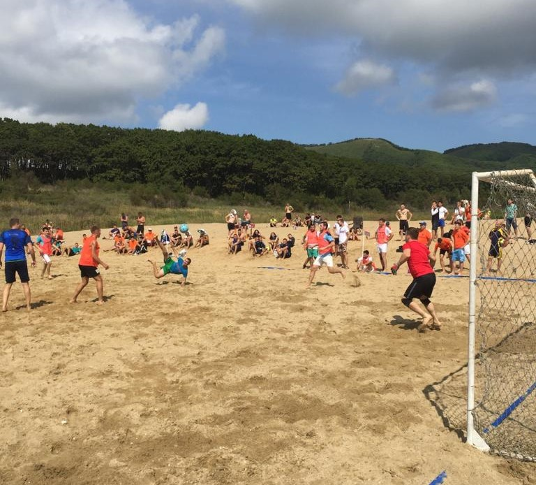 пляжный футбол, футбол Находка